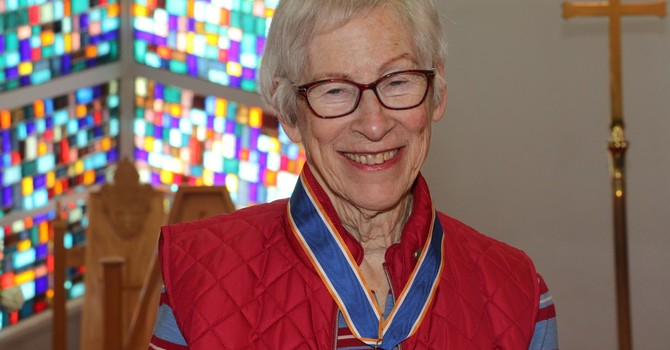 Congratulations to our Order of the Diocese recipient image