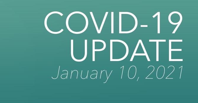 COVID-19 Update - January 10 image