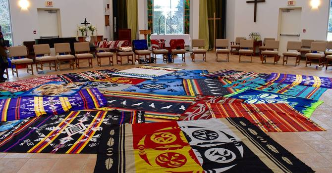 Kairos Blanket Exercise at St. Dunstan's image