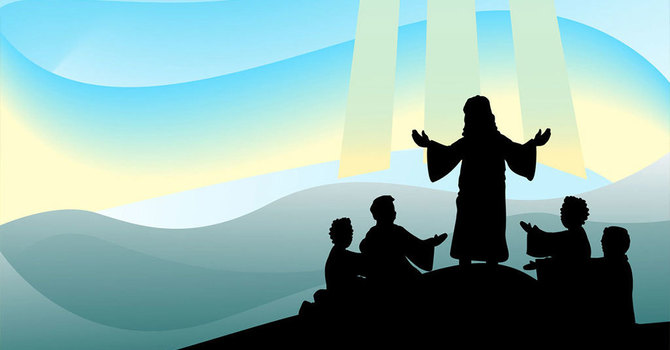 Story ~ Jesus Transfigured image