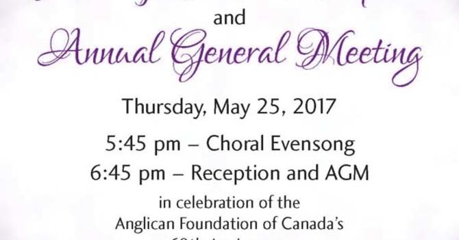 Anglican Foundation 60th Anniversary