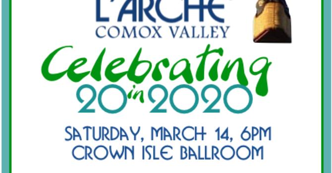L'Arche Invitation to Celebrate 20 in 2020 image