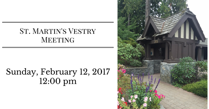 St. Martin's Vestry Meeting image