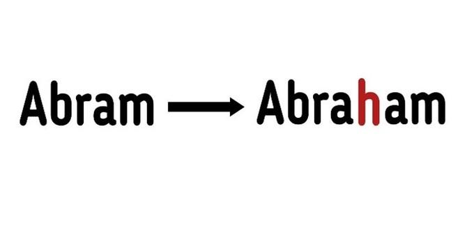 Abram's New Name image