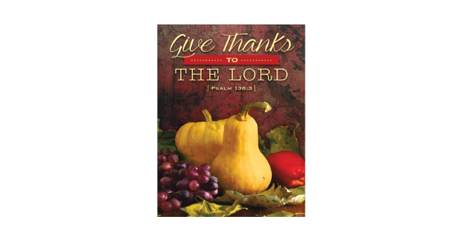 THANKSGIVING LETTER image