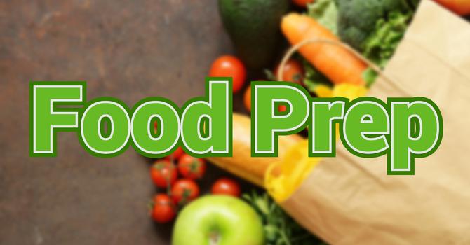 Food Bank Prep