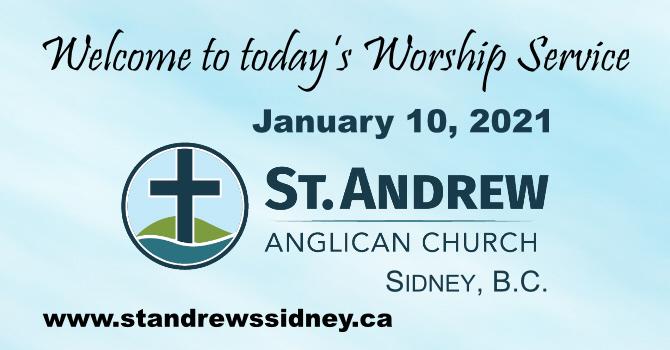 January 10, 2021 On-Line Sunday Service image