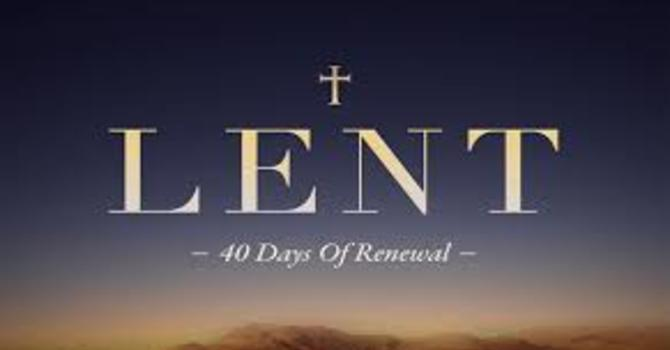 Ecumenical Lenten Reflections image