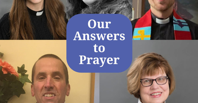 Our Answers to Prayer image