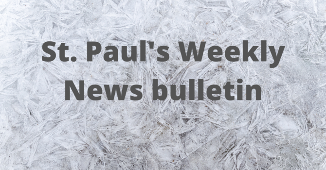 January 10th Weekly News Bulletin image