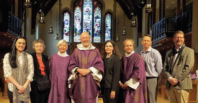 Blessing of New Lenten Vestments at CCC image