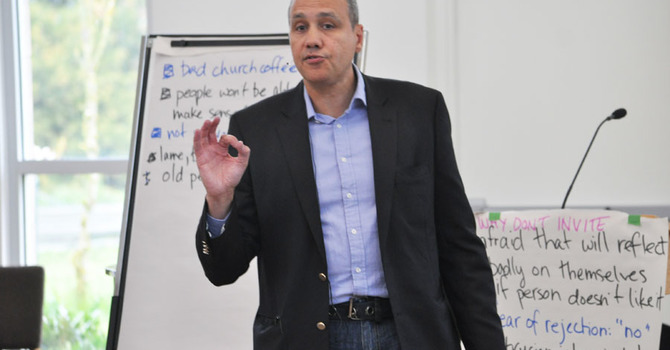 Two Training Days with Back to Church Sunday Co-Founder Michael Harvey image