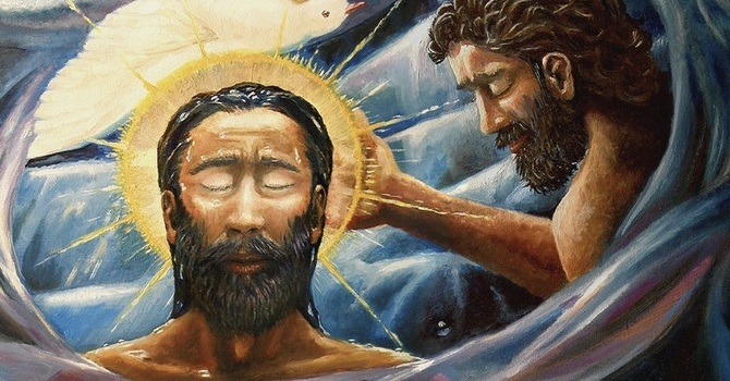 Baptism of Christ image