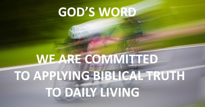 The Life Application of God's Word