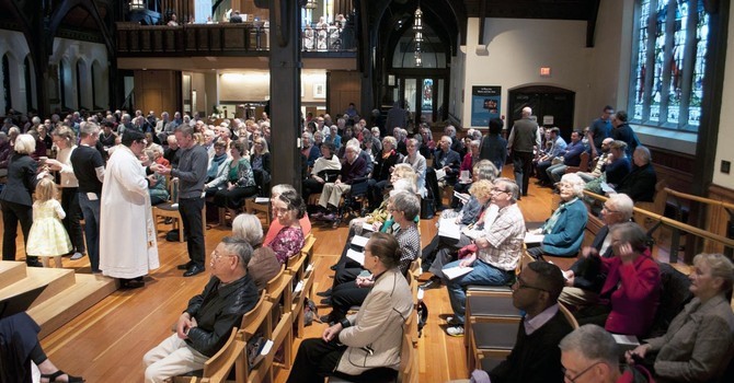 Capacity Congregation for the Eucharist at CCC prior to the move image