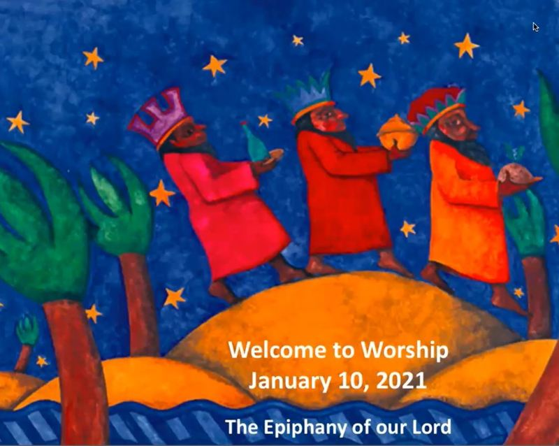 January 10, 2021 Worship Service