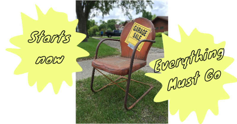Our Things and Life's Garage Sale