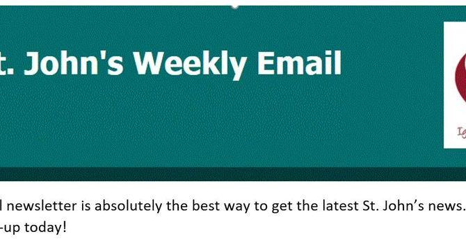 January 12th E-Mail News image