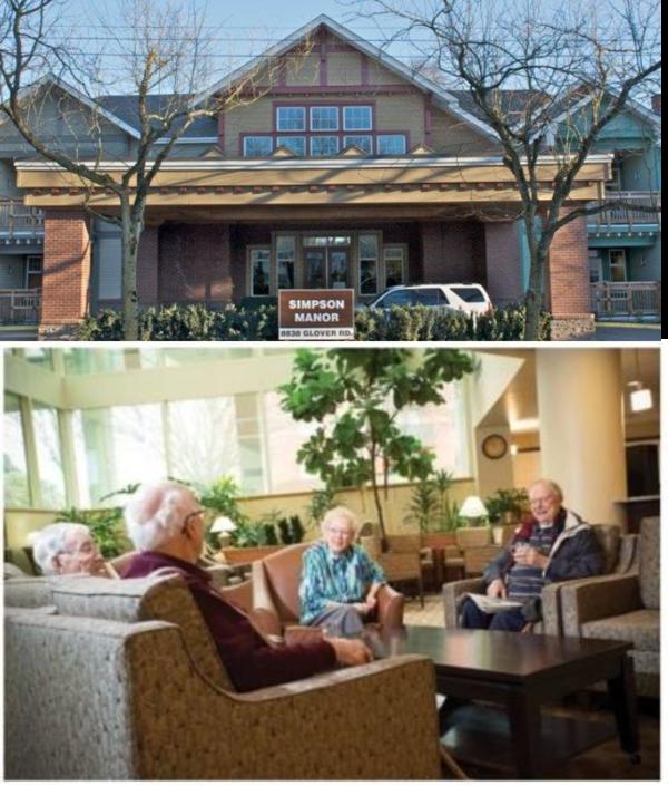 Senior's Service at Fort Langley Seniors Community