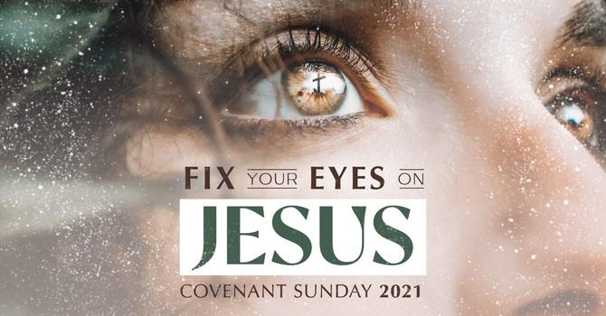 Eyes on Jesus..until the end