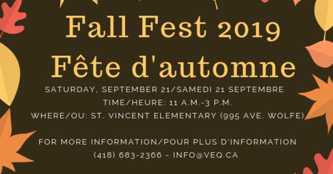 FallFest/festival d'automne 2019