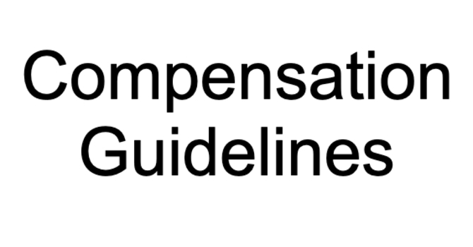 Compensation Guidelines
