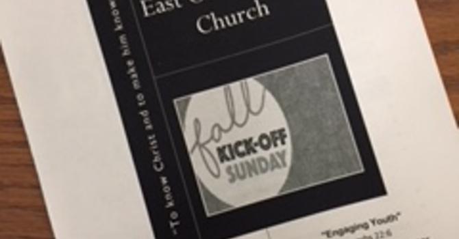 September 9, 2018 Church Bulletin image