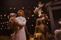 Pageant Sunday - Mother Mary, Joseph & manger