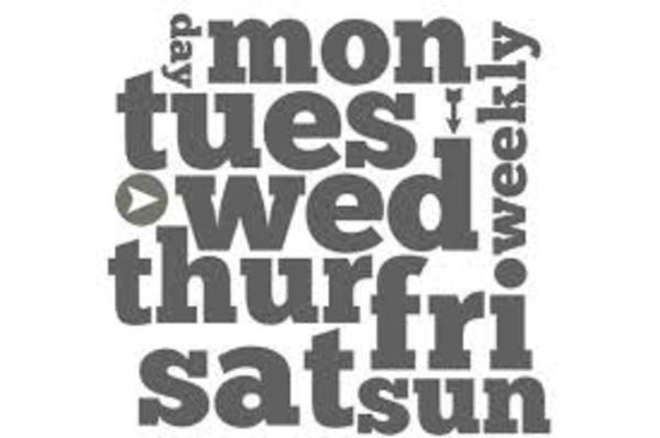 FLEFC Weekly Events