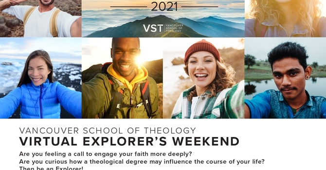 Vancouver School of Theology Virtual Explorers Weekend image
