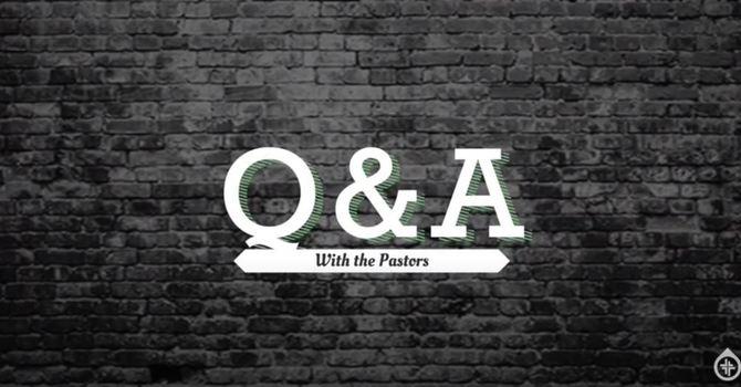 Q&A, Emmanuel Connect, TFTD