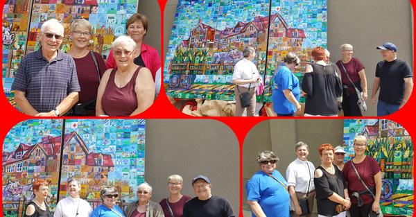 St. Saviour's, Vermilion Celebrates Canada 150 Mosaic Unveiling
