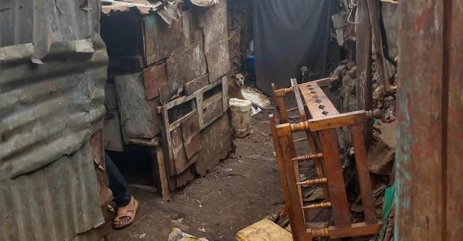 Today we visited Kibera - the largest urban slum in Africa image