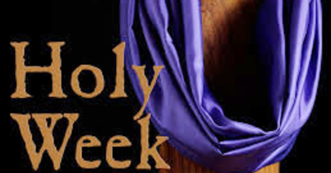 Holy Week Prayer image