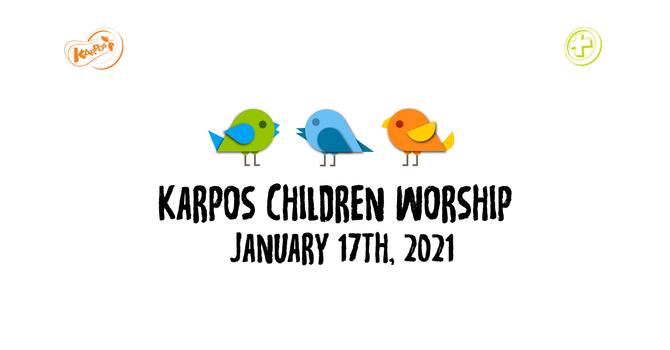 210117 Elementary Sunday Worship