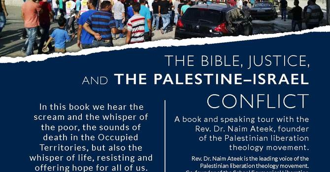 Naim Ateek Lecture and Book Tour