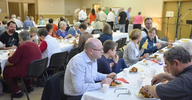 Surrey Parish Event was Rare, Medium and Well-Done
