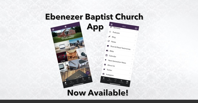 Church App Now Available image