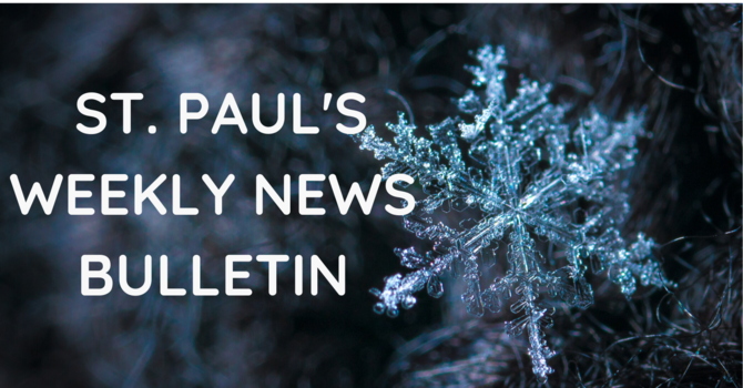 January 17th Weekly News Bulletin image