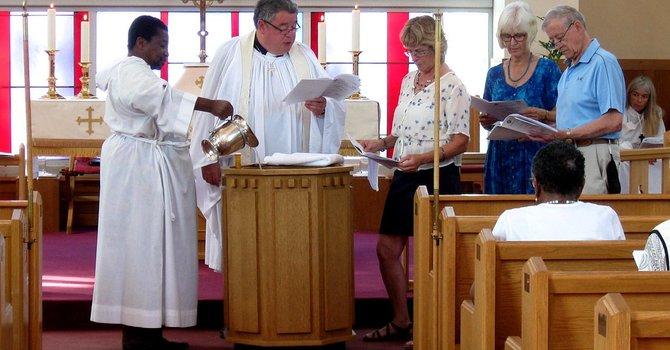 Carol Gets Baptized image