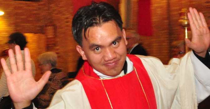 Induction Service for the Rev. Johnny Pooten
