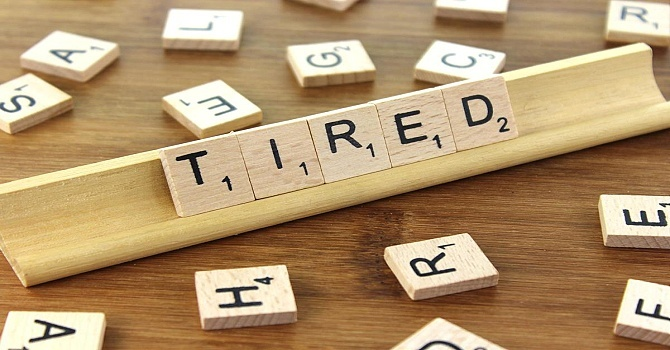 Tired? image