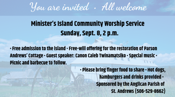 Minister's Island annual service
