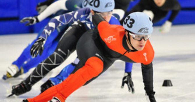 Maple Ridge Speed Skater at 2019 Canada Winter Games image