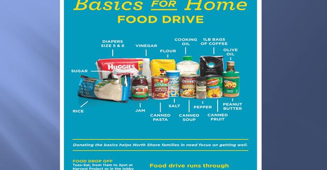 Harvest Project Donations - Food Basics Drive image