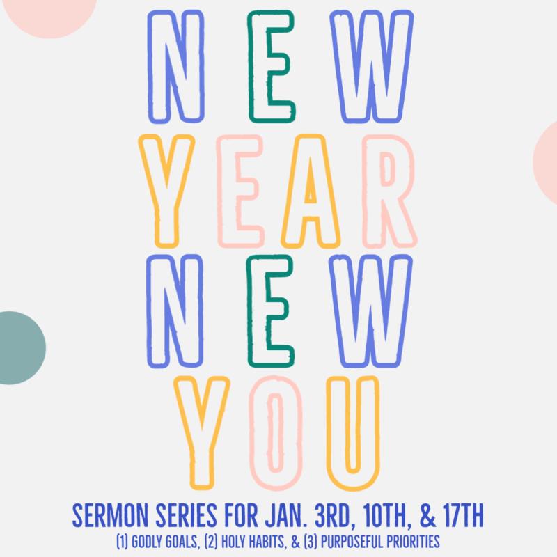 "3 - ""NEW YEAR NEW YOU: Priorities"""
