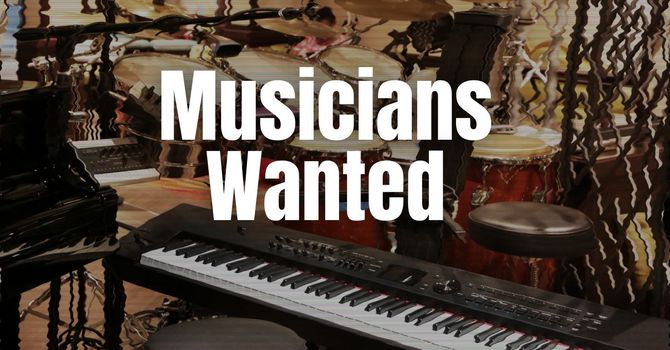 Musicians Wanted image