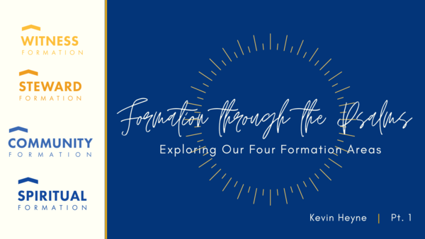 Formation Through the Psalms
