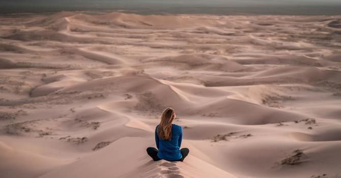Lent in the Desert image