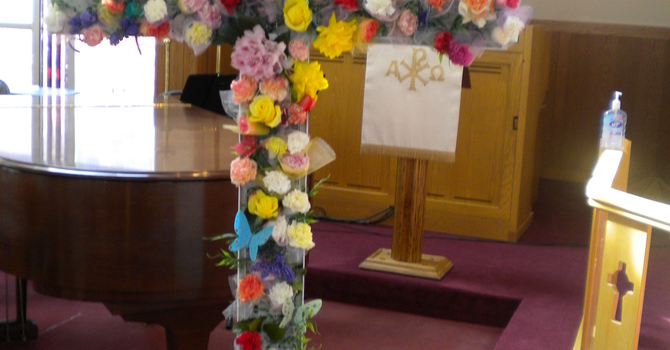 Draw Flowers For Our Easter Service! image